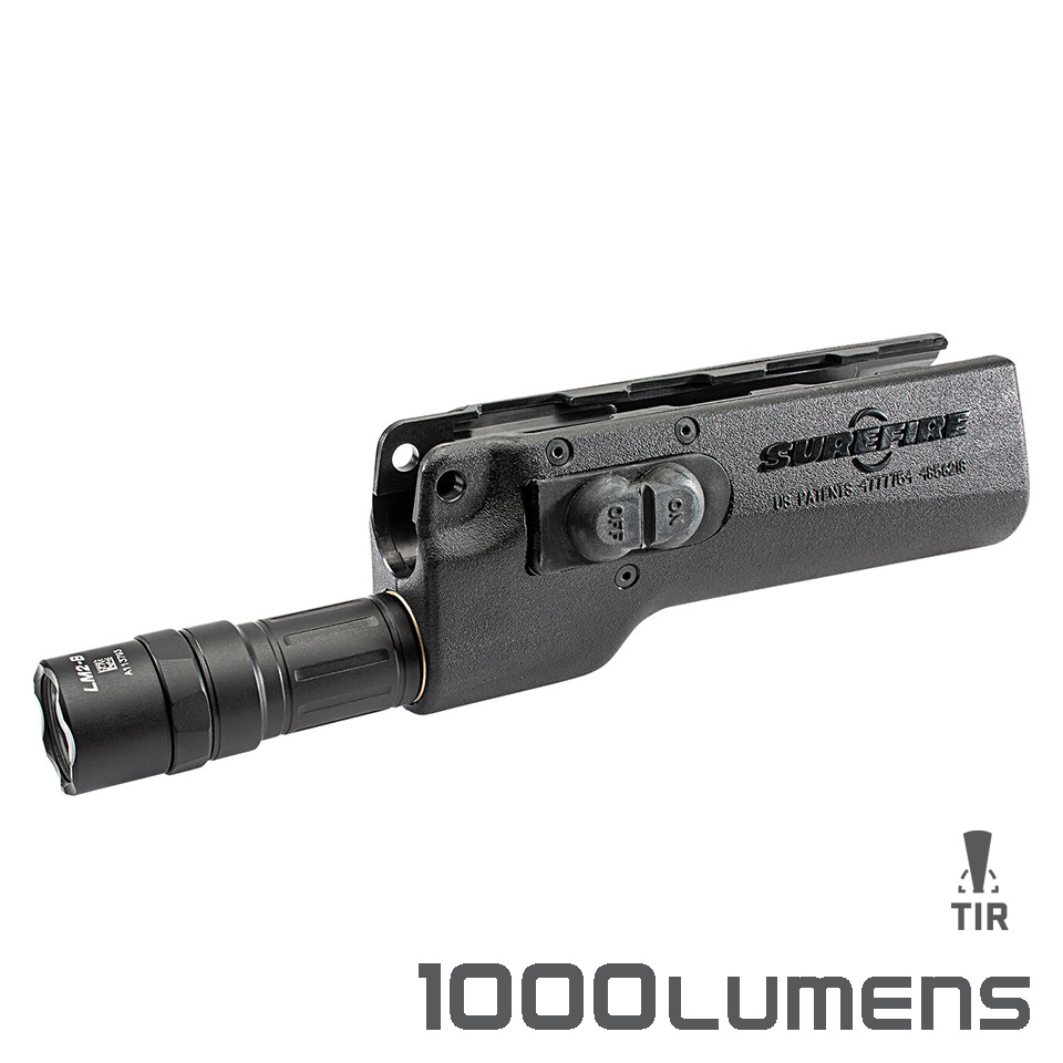 628LMF-B FOREND WEAPONLIGHT – High-Output LED Forend WeaponLight for H&K MP5, HK53 & HK94